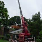 16t City crane hire Brisbane