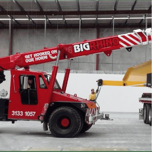 hire a crane truck brisbane