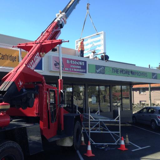 large crane hire brisbane